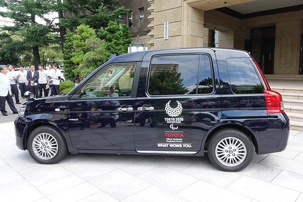 トヨタ自動車の「JPNTAXI(ジャパンタクシー)」