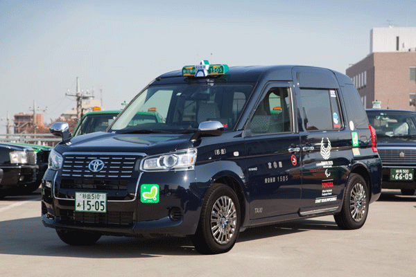 一般タクシーと同様の運賃で乗車できる次世代型のUDタクシー